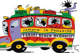 JAMMIN IN PARADISE BEACH BAR ΠΑΡΑΛΙΑ ΦΑΝΑΡΙ ΜΕΓΑΝΗΣΙ ΛΕΥΚΑΔΑ